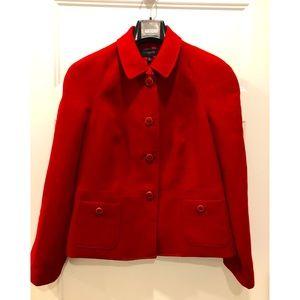 Vintage Red Blazer, Jacket